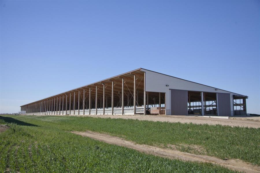 cattle barns gallery systems inc barn buildings britespan dairy heifer fabric building media
