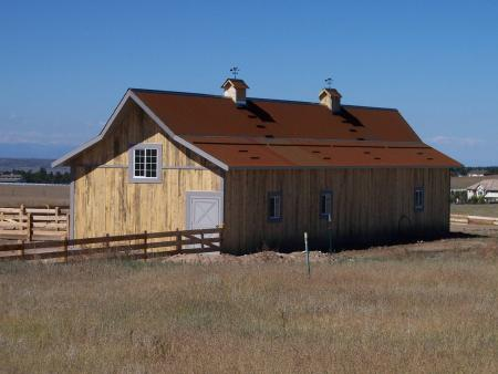 Equestrian Building - Rocky Mountain Barns