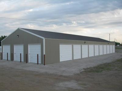 Post Frame Commercial Storage