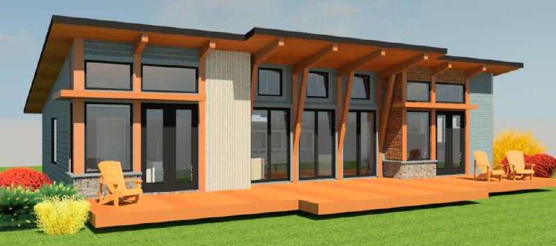 Merveilleux ... Minneapolis Home + Garden Show. Idea Home Rendering