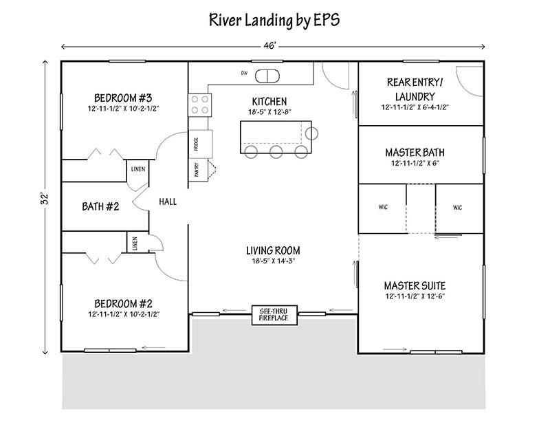2018 St. Louis Home And Garden Show. River Landing Rendering. River Landing  Floor Plan