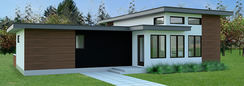 Idea Home Rendering rear